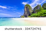 tropical holidays   amazing... | Shutterstock . vector #334724741