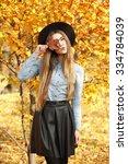 Fashion Autumn Portrait Of...