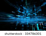 abstract futuristic background | Shutterstock . vector #334786301
