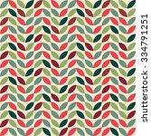 vintage geometric seamless... | Shutterstock .eps vector #334791251