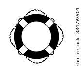 lifebuoy vector icon | Shutterstock .eps vector #334798901