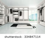 3d illustration of luxury... | Shutterstock . vector #334847114