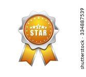 5 star yellow vector icon design | Shutterstock .eps vector #334887539