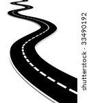 road | Shutterstock . vector #33490192