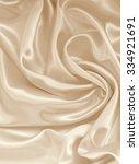 smooth elegant golden silk can... | Shutterstock . vector #334921691