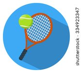 tennis icon | Shutterstock .eps vector #334923347