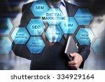 digital marketing concept....   Shutterstock . vector #334929164