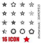 vector grey stars icon set.   Shutterstock .eps vector #334929515