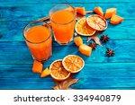 Pumpkin Juice With Oranges  ...