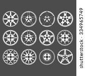 rim vector set. | Shutterstock .eps vector #334965749