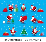 vector set design elements... | Shutterstock .eps vector #334974341