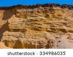 closeup sandy wall | Shutterstock . vector #334986035