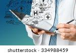 doctor. | Shutterstock . vector #334988459