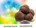 close up of ice cream | Shutterstock . vector #334989599