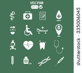 medical icons | Shutterstock .eps vector #335006045
