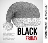 black friday sales dotwork... | Shutterstock .eps vector #335021837