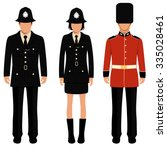 british guard  english people  ... | Shutterstock .eps vector #335028461
