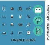 finance  bank  credit  savings  ... | Shutterstock .eps vector #335033639