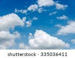 Beautiful Clouds In The  Blue...