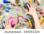 a lot of things | Shutterstock . vector #335051324