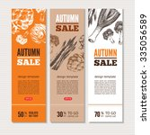 banners about sale and special... | Shutterstock .eps vector #335056589