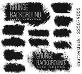 grunge  vintage halftone vector ... | Shutterstock .eps vector #335079005