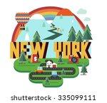 new york   Shutterstock .eps vector #335099111