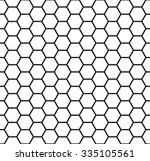 honeycomb background  seamless... | Shutterstock .eps vector #335105561