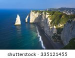 falaise d'amont cliff at... | Shutterstock . vector #335121455