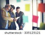 business team meeting... | Shutterstock . vector #335125121