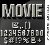 vector 3d   set of condense... | Shutterstock .eps vector #335145161