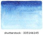 Winter Watercolor Horizontal...