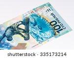 100 russian rubles bank note...   Shutterstock . vector #335173214