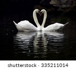 mute swan | Shutterstock . vector #335211014
