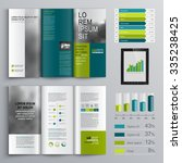 business brochure template... | Shutterstock .eps vector #335238425