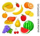 fruit | Shutterstock .eps vector #335249141