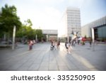 out of focus shot of a shopping ... | Shutterstock . vector #335250905