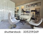 lounge area of a hotel  club ... | Shutterstock . vector #335259269