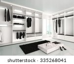 3d illustration of luxurious... | Shutterstock . vector #335268041