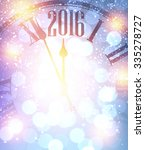 2016 new year shining... | Shutterstock .eps vector #335278727
