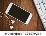 close up view of white... | Shutterstock . vector #335279297
