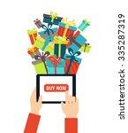 online shopping   ordering... | Shutterstock .eps vector #335287319