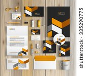 classic black corporate... | Shutterstock .eps vector #335290775