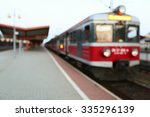 background train station | Shutterstock . vector #335296139