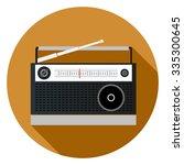 radio icon | Shutterstock .eps vector #335300645
