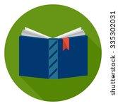 open book icon | Shutterstock .eps vector #335302031