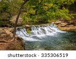 Small Waterfall At The ...