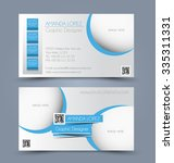 business card set template for... | Shutterstock .eps vector #335311331