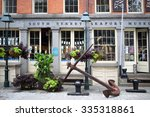 new york  usa   sep 08  2014 ... | Shutterstock . vector #335318861