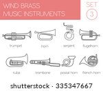 musical instruments graphic... | Shutterstock .eps vector #335347667